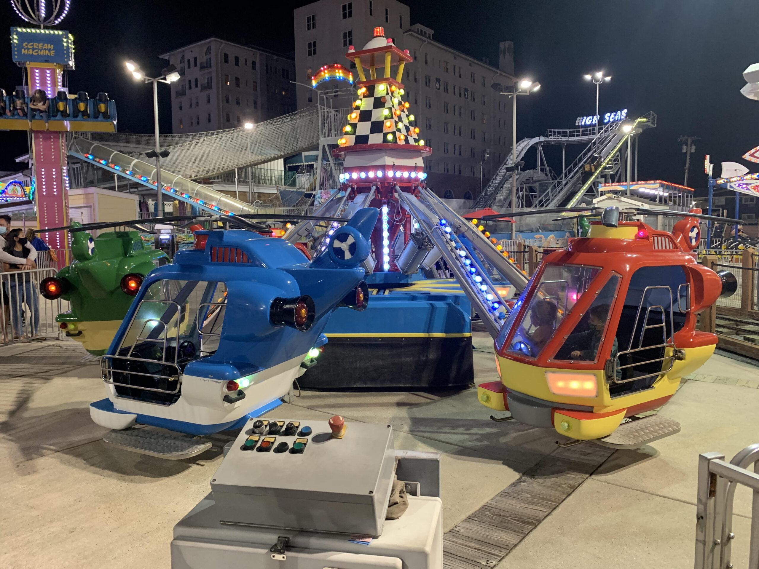 2002 Zamperla Helicopters