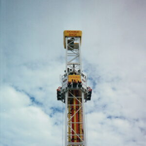 S&S Doubleshot Drop Tower