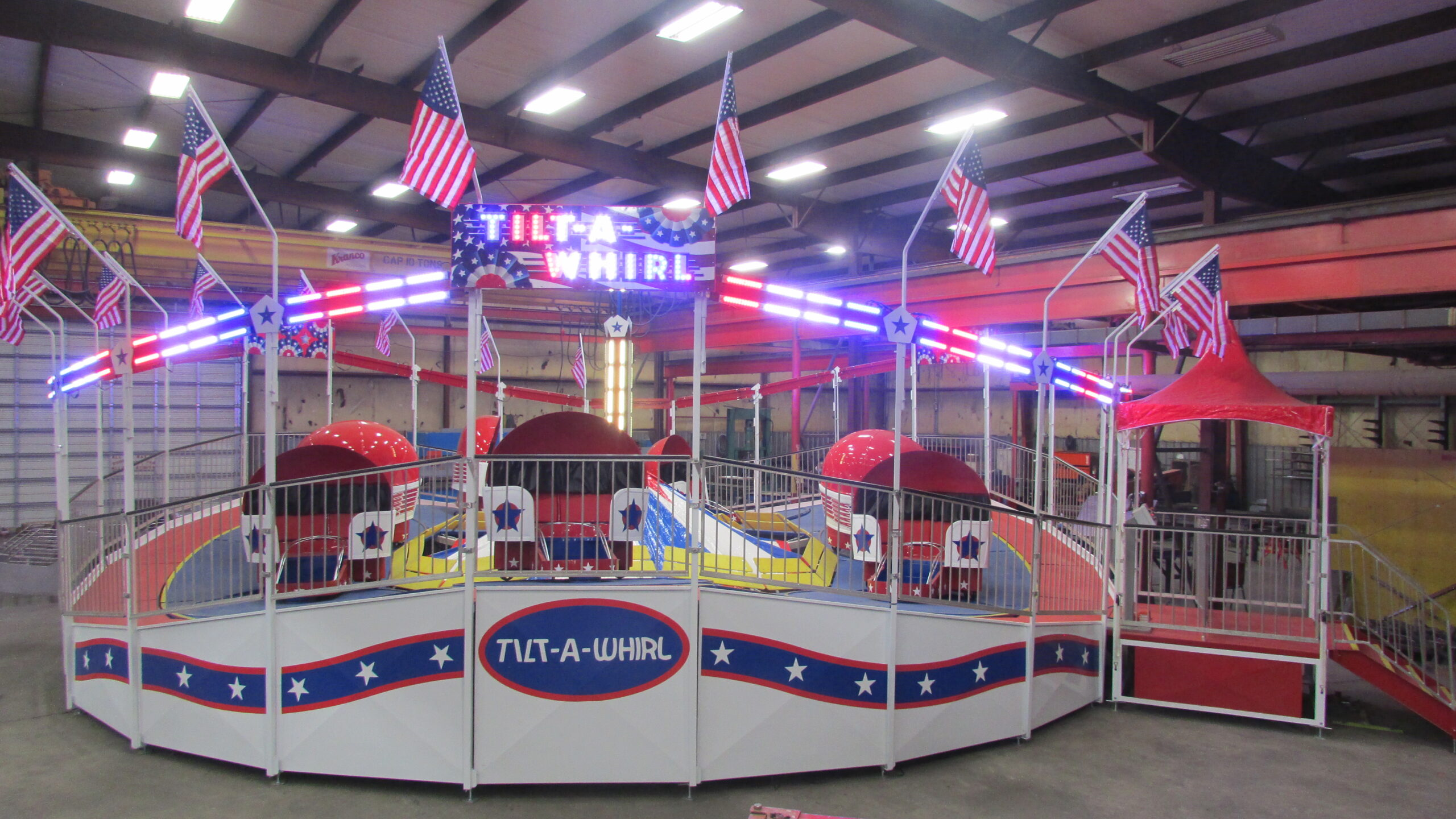 Larson International Fair Themed Tilt-A-Whirl