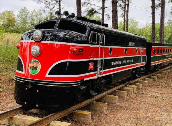Swanee River Railroad locomotive