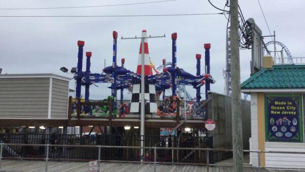 Zamperla Airrace Amusement Ride