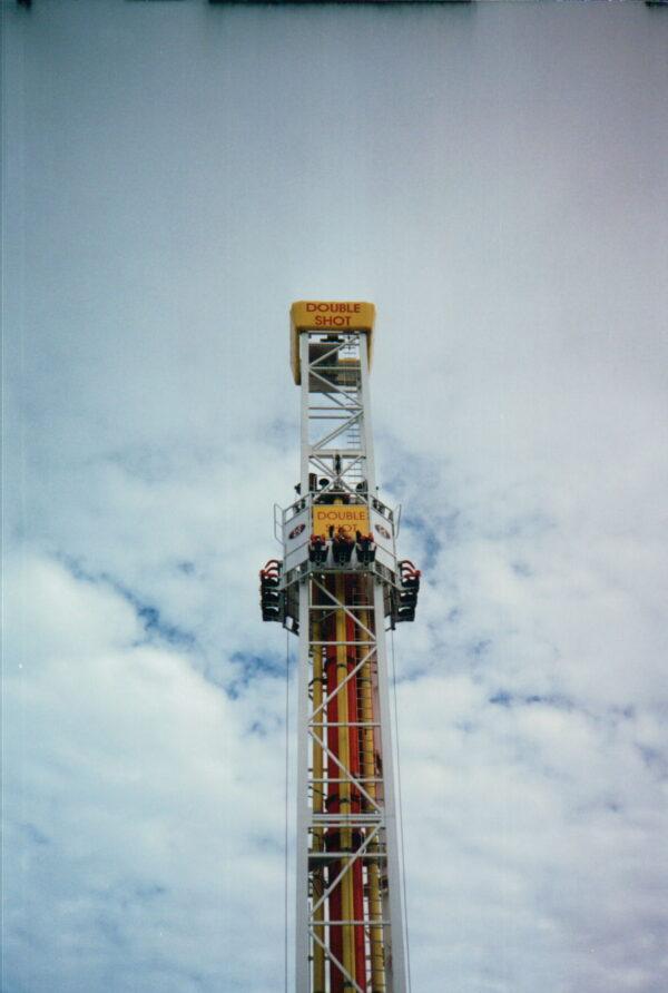S&S Doubleshot Drop Tower