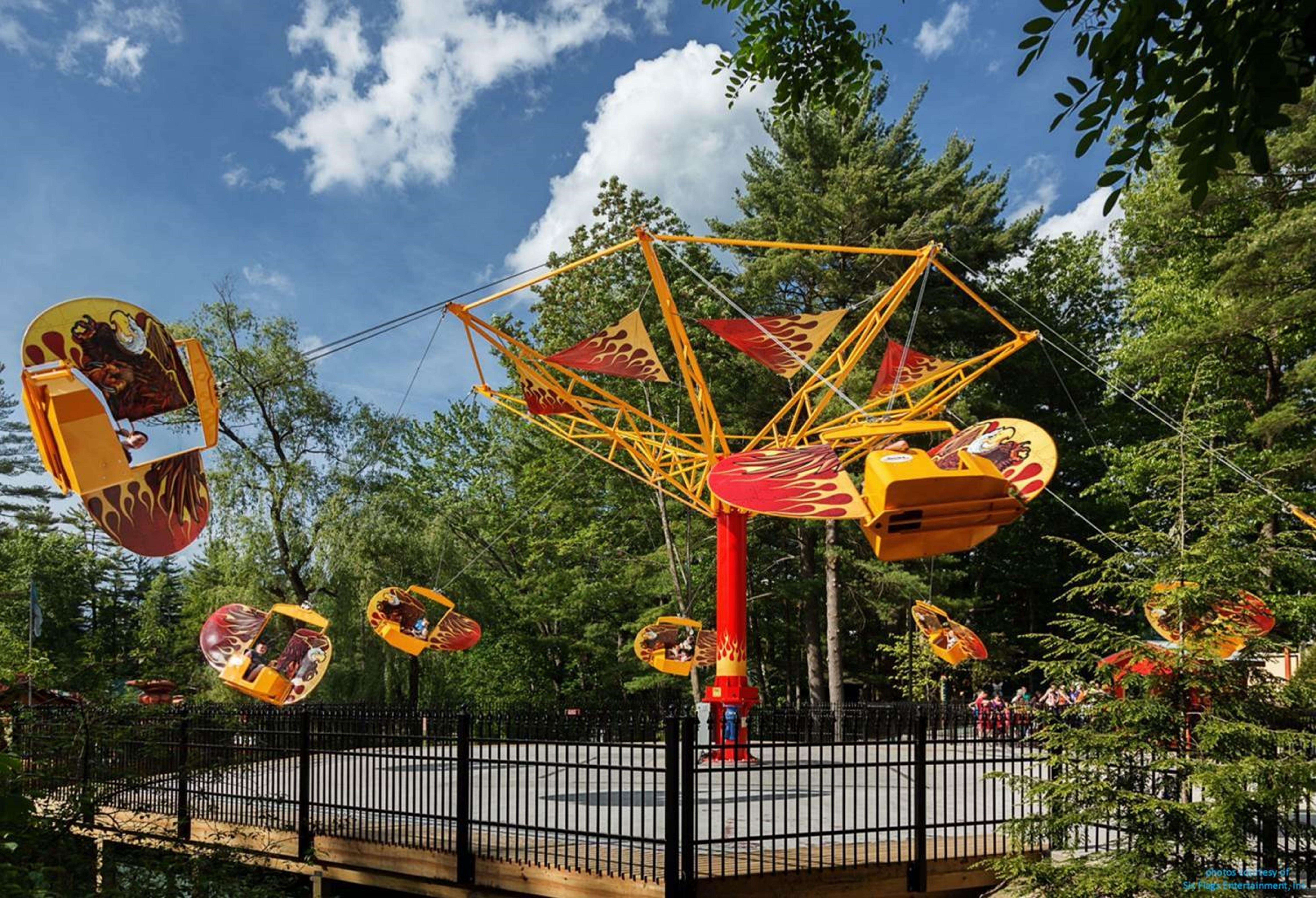 Flying Scooter Amusement Ride