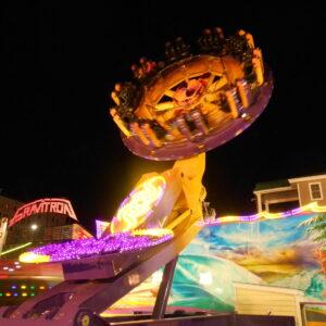 Technical Park Heavy Rotation Amusement Ride Thriller