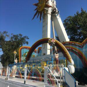 Huss Park Attractions Rainbow Amusement Ride