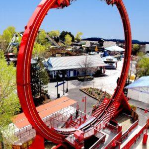 Larson Super Loop Ride Roller Coaster