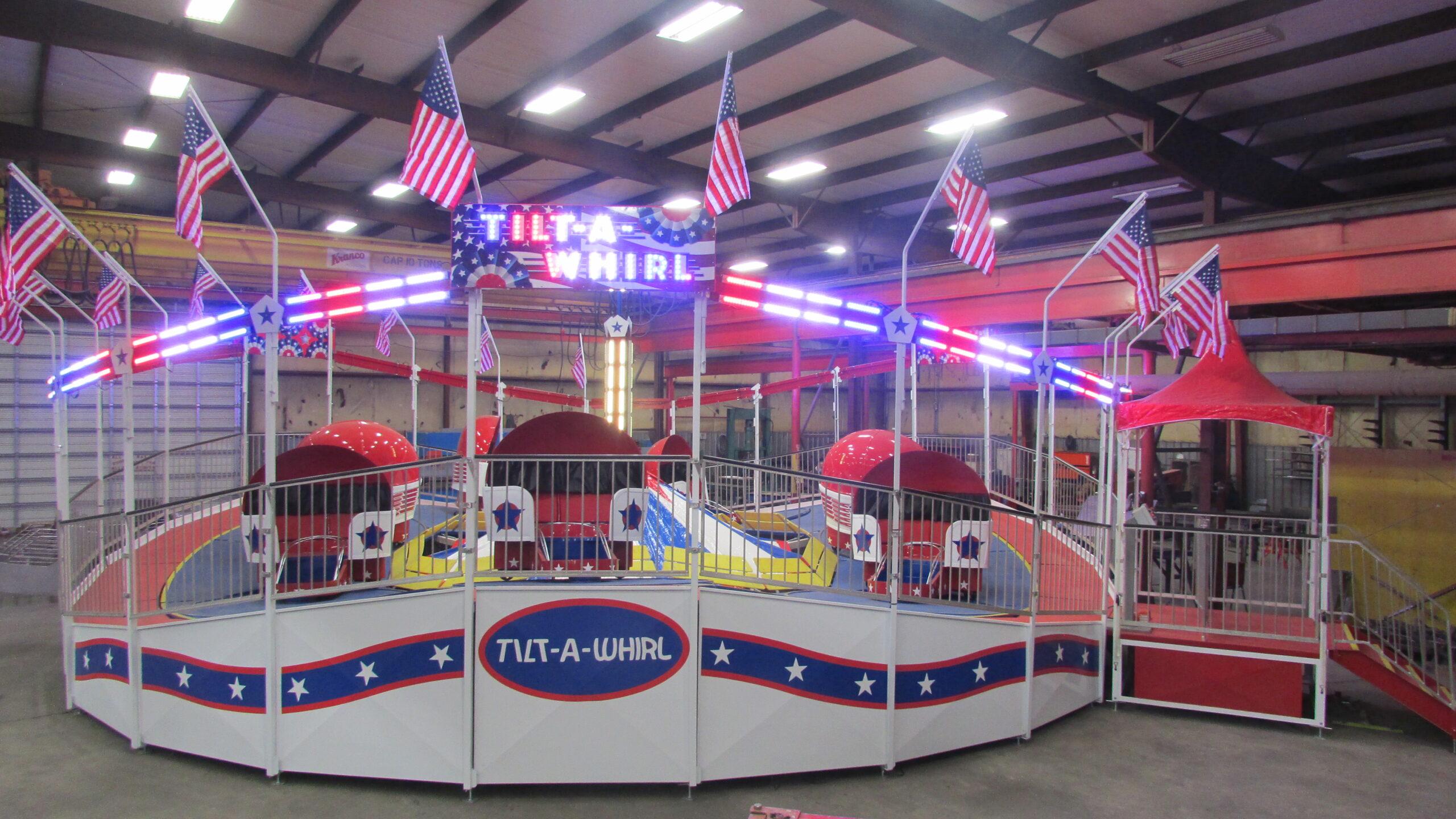 Larson International Fair Themed Tilt-A-Whirl