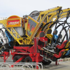 Wisdom Rides Tornado Amusement Ride