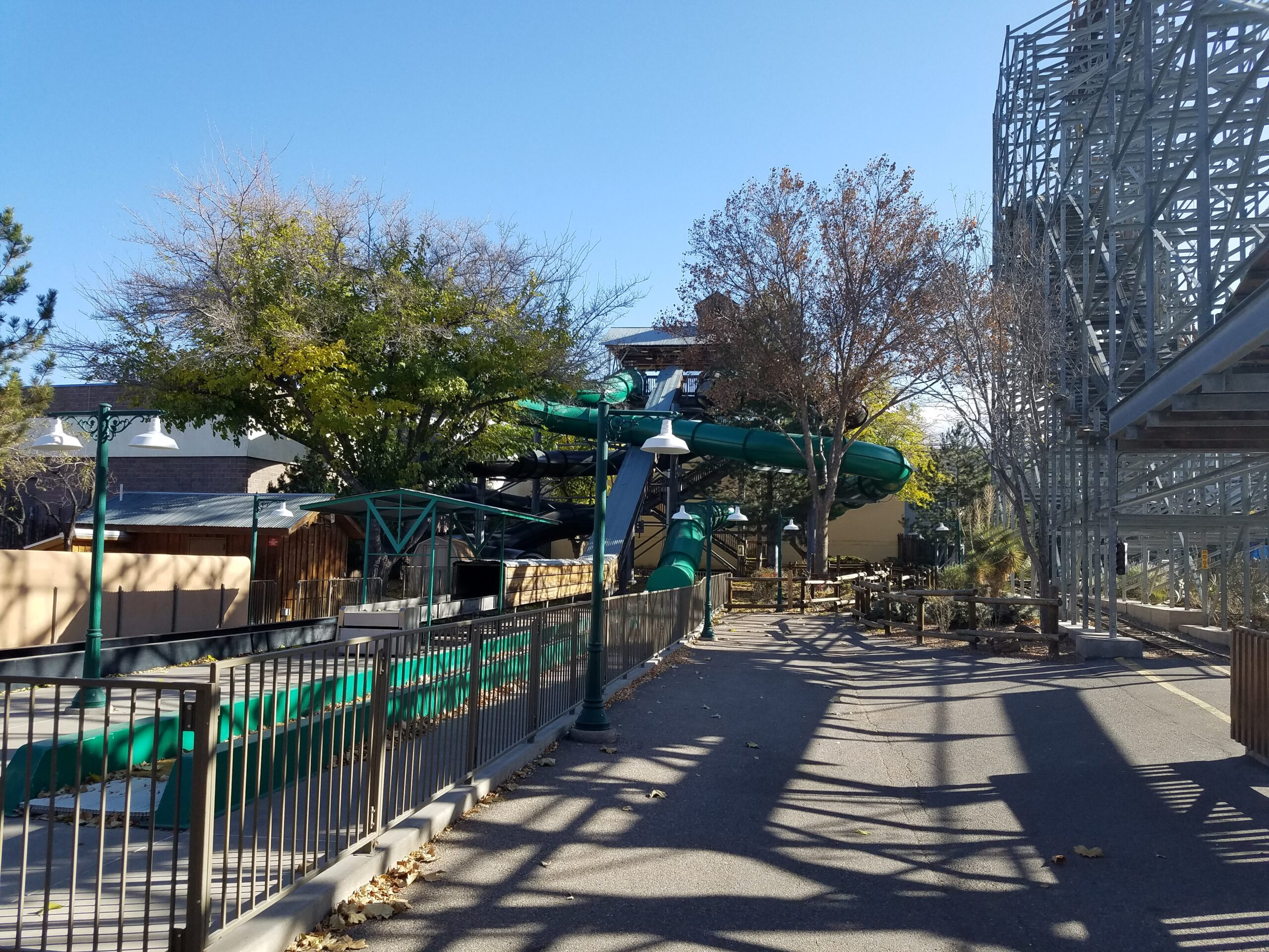 Used Whitewater Water Slides